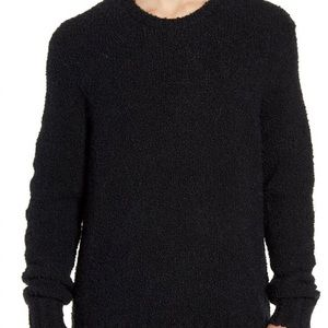 John Varvatos Crewneck Black Sweater Size L